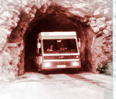 1980: Mit dem FFB MC3 in Samnaun