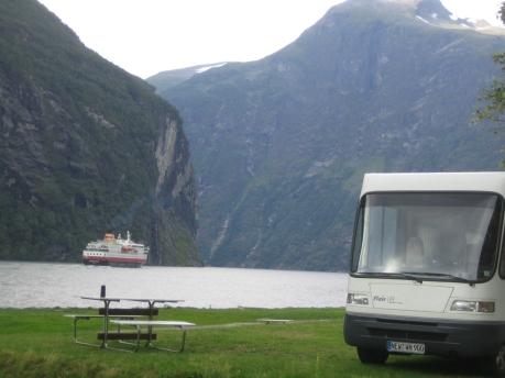 Mit dem N+B FlairLIFE 6.3S am Geirangerfjord