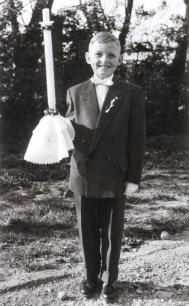 Kommunionkind 1957