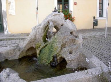 Sagenbrunnen in Neualbenreuth