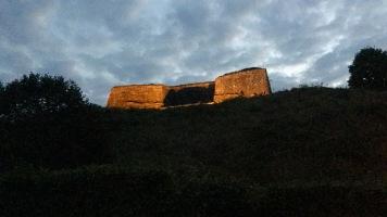 Blick zur Zitadelle am Abend