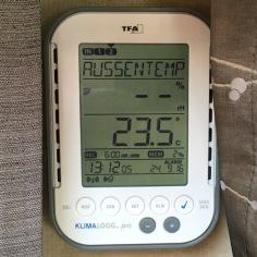 Außentemperatur