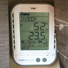 Wohnraumtemperatur und Luftfeuchte
