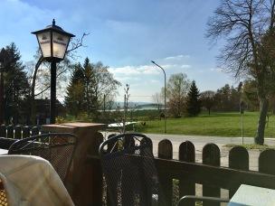Hübscher Blick von der Terrasse