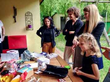 Samira, Karin, Miriam, Romy
