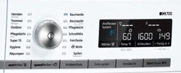 Siemens Bedienfeld