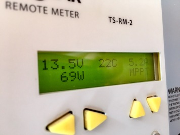Solarertrag heute um 09.41 Uhr ...