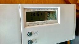 Temperatur in der Fahrzeugmitte