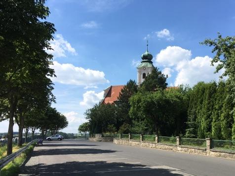 Parkplatz an der Felixkirche