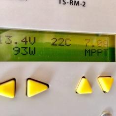 12V-Anlage 200Wp: 93 W