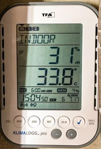 Temperatur im WoMo