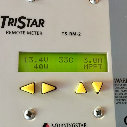 TriStar-Amzeigedisplay: 40 W Solarleistung