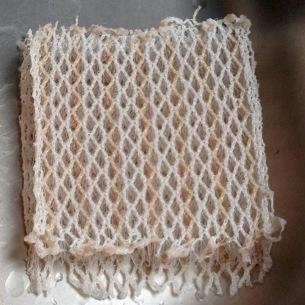 So sieht das Silbernetz nach einem Jahr Gebrauch aus