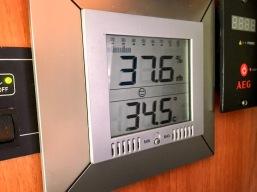 WoMo-Innentemperatur und Luftfeuchtigkeit