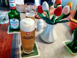 Dazu Alkoholfreies vom Lammsbräu