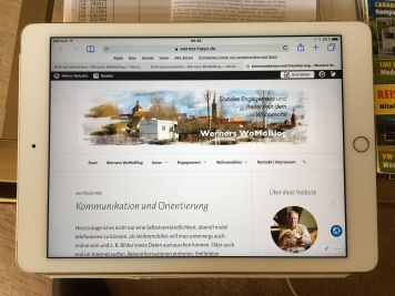 Mein iPad Air2 ist Hauptarbeitsgerät