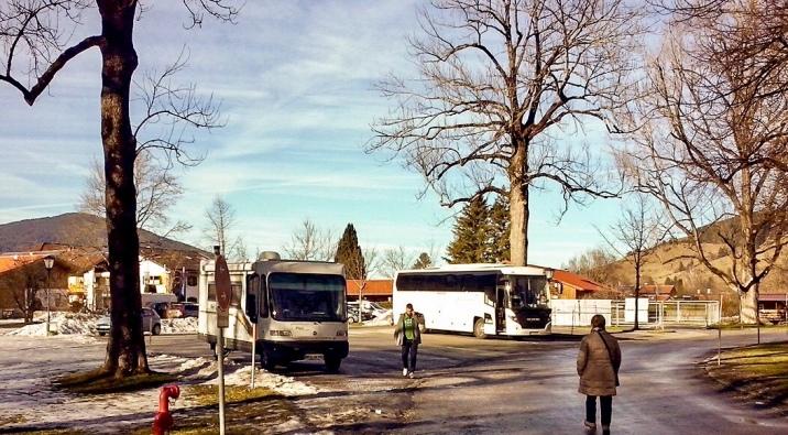 Parkplatz am Passionstheater