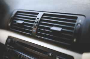 car interior air conditioner