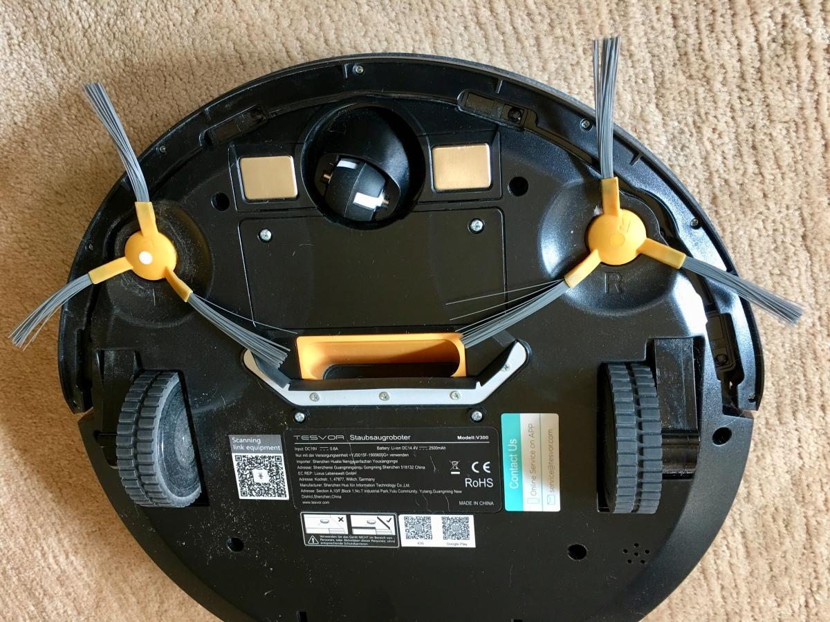 """Staubsaugroboter TESVOR V300, der smarte """"Kehrsauger"""" mit """"Kreiselbesen"""" — auch für's WoMo?"""
